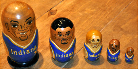 pacers nesting dolls