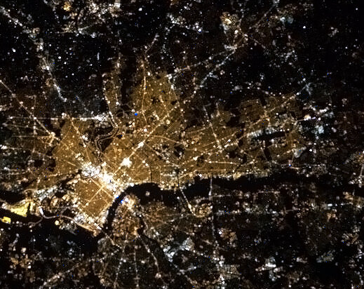 Philly from space